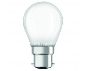 Lampes sphériques à baïonnettes